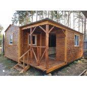 Дерев`яний будинок 6x5.5 м