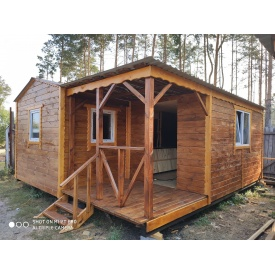 Деревянный дом 6x5.5 м