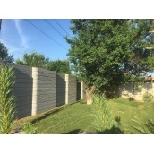 Крафтовый паркан ConcreteFlow 2000x250 мм з штучного каменю