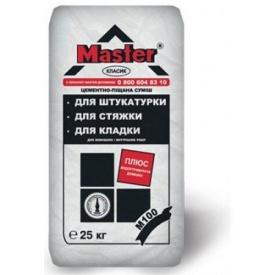 Цементно-піщана суміш Мастер-Класік 25 кг