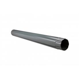 Труба з`єднувальна Aqueduct Преміум 87 мм 1 м графіт