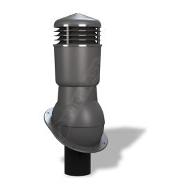 Вентиляційний вихід Wirplast Normal К24 110x500 мм графітовий RAL 7024