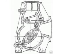 Насос роторный РН18 без редуктора на раме 5,5 кВт