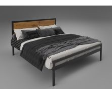Двуспальная кровать Тенеро Герар Лофт 1600х1900 мм металлический каркас