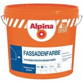 Alpina Fassadenfarbe Краска фасадная акриловая 18 л 852847/914505