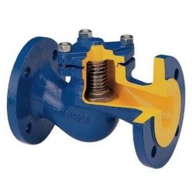 Клапан обратный подпружиненный Py16 ДУ100