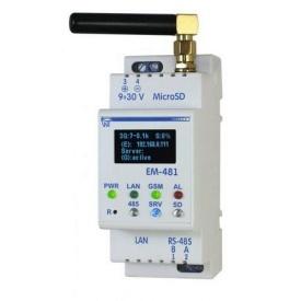 Контроллер web-доступа для управления MODBUS-оборудованием ЕМ-481