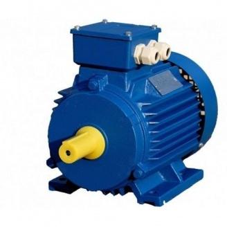 Электродвигатель асинхронный АМУ71А2 0,75 кВт 3000 об/мин