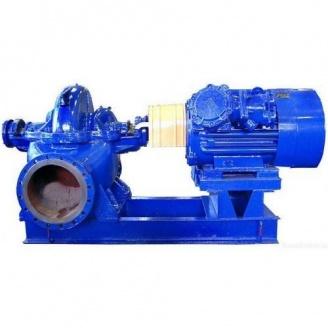 Насосный агрегат двустороннего входа 1Д 200-90а правосторонний с двигателем 75 кВт 3000 об/мин