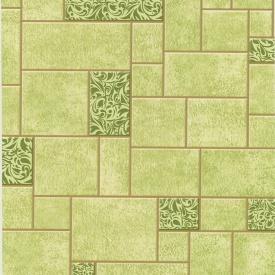 Обои Шарм 70-03 Фреска зеленые влагостойкие 0.53х10.05м