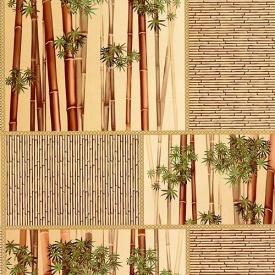 Обои Шарм 71-01 Бамбук бежевый влагостойкие 0.53х10.05м