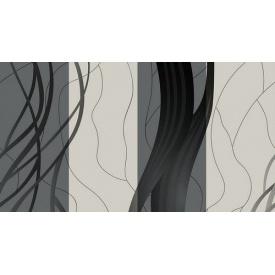 Паперові шпалери Шарм 140-02 мийка Стрім Декор сірі 0,53х10,05м