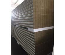 Стеновая сэндвич-панель Стилма 100 мм с наполнителем минеральная вата