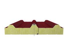 Кровельная сендвич-панель Стилма с наполнителем минеральная вата 100мм