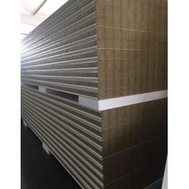 Стеновая сэндвич-панель Стилма 220 мм с наполнителем минеральная вата