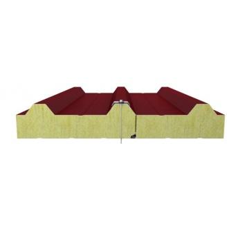 Кровельная сендвич-панель Стилма с наполнителем минеральная вата 150мм
