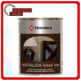 Віск на водній основі для дерев'яних стін, меблів Ностальгія родзинки 0,333 л