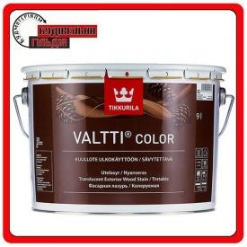 Фасадна лазур для захисту зовнішніх дерев'яних поверхонь Valtti Color базис ЄС 0,9 л