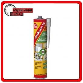 SikaBond-T 2 полиуретановый монтажный клей/черный 600 мл
