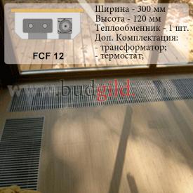 Внутрипольный конвектор FCF 12 12v 1000 мм