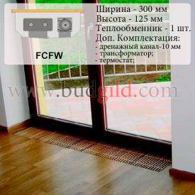 Внутрипольный конвектор FCFW 12v 1000 мм