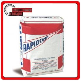 Гидравлическая вяжущая смесь быстрого схватывания Rapidcem 25 кг