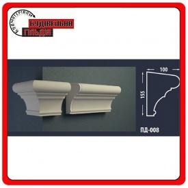 Подоконник для фасада FASTROCK ПД-008 2 метра