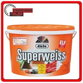 Суперстойкая виниловая краска Superweiss D4 5л