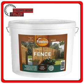 Краска для древесины PINOTEX FENCE красное дерево 5 л
