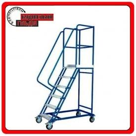 SHML лестница передвижная 2000 мм с полкой