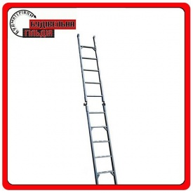 Двухсекционная диэлектрическая лестница ЗИО 2х4 ступеней