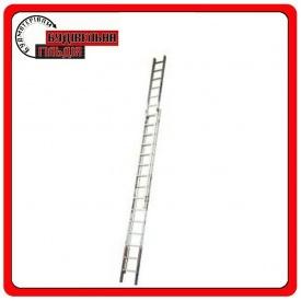 Двухэлементная выдвижная лестница Krause Robilo (с тросом) 2x15