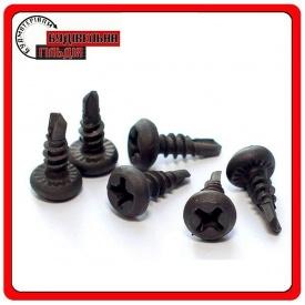 Самонарізи для металу 3.5х9.5 мм чорні 1000 шт