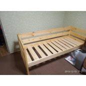Дитяче ліжко дерев'яна 80х160