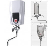 Проточный водонагреватель ELDOM Кран 5000 Вт