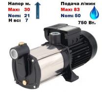 Насос центробежный многоступенчатый MRS-3 Sprut 30/21 м 50-83 л/мин 220 В 750 Вт
