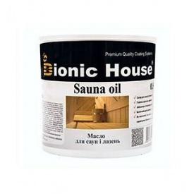 Масло для обработки саун Bionic House
