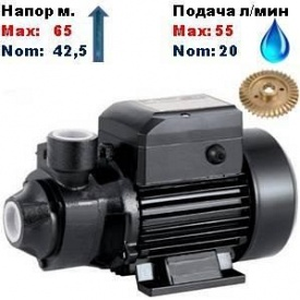 Насос вихровий QB-70SPRUT 42,5/65 м 20-55 л/хв