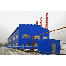 Строительство промышленного здания под ключ