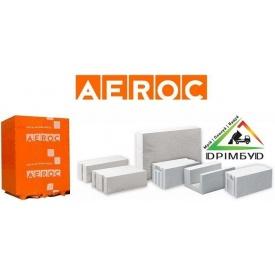 Газоблок Аерок D500 гладкий 300х200х600 мм Березань.