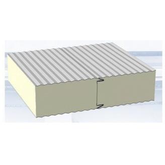 Сендвич-панель для холодильных и морозильных камер 100 мм пенополиуретан PUR