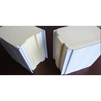 Сендвич-панель для холодильных и морозильных камер 150 мм пенополиуретан PIR