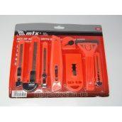 Набір ножів будівельних MTX