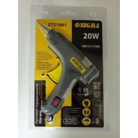 Пистолет клеевой Sigma 20W