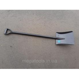 Лопата совкова з металевим держаком