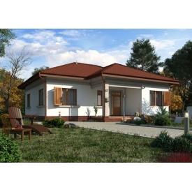Стильный каркасный дом 98 м2 базовая комплектация