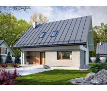 Стильний каркасний будинок 109 м2 комплектація під ключ