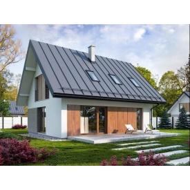 Современный стильный каркасный дом 109 м2 комплектация базовая