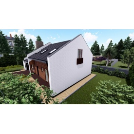 Концептуальный стильный дом OmniSpace 146 под ключ