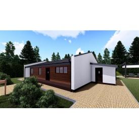 Каркасный концепт-дом OmniSpace 97 под ключ